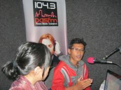 Misbah di Radio